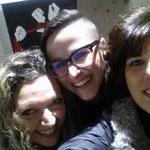 Con le artiste Moira Pucci e Maria Chiara Arconte