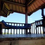 deck upstairs bali bungalow accommodation