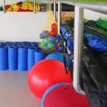 Gymnastikraum Rücken College Zwenkau