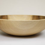Walnut Bowl, hand turned on lathe