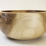 Wood turned Bowl from walnut wood