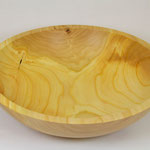 Cherry Wood Bowl /  Kirschholzschale 23x4,5cm