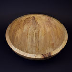 wooden maple bowl