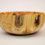 Wooden Bowl turned from Yew