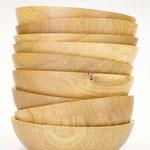 Eichenschalen, Oak Bowls