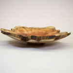 Hand turned wooden Bowl from yew