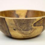 hand gedrechselte Holzschale aus Fasanenholz