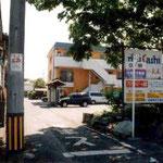 青梅街道から新青梅への小道入口。