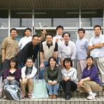 2006年9月16日 茶陵祭 同窓会の面々です。