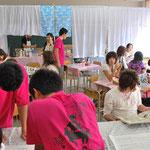 2008年9月20日 茶陵祭 これは同窓会ブースにて。
