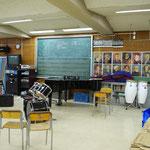 2008年9月20日 茶陵祭 音楽室。