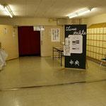 2007年9月15日 茶陵祭 体育館入口。