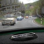 Weiterfahrt zum kleinen Inselsberg