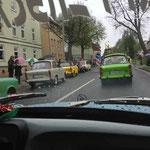 Fahrt durch Gotha