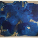 """""""Gebundenes Wasser"""" II., Öl auf Leinwand, 120 x 150 cm, 2021"""
