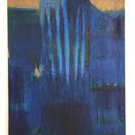 """""""Gebundenes Wasser"""" III., Öl auf Leinwand, 120 x 90 cm, 2021"""