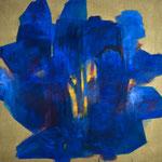 """""""Gebundenes Wasser"""" I., Öl auf Leinwand, 120 x 120 cm, 2021"""