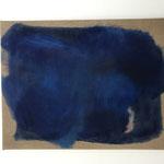 """""""Gebundenes Wasser"""" VI., Öl auf Leinwand, 50 x 65 cm, 2021"""