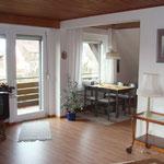Ferienwohnung Muehlenblick  Wohnzimmer 1
