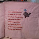 Cuscino libro personalizzato Beatrice pag 3