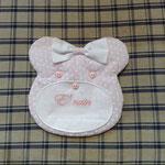 Fiocco nascita bimba orsetto personalizzato