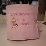 Cuscino libro personalizzato Beatrice