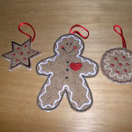 Addobbi natalizi gingerbread
