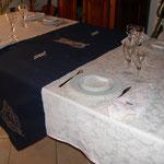 Particolare tavolo sala collezione nautica