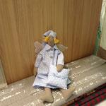 Particolare camera bimbi pupazzo angioletto della buonanotte