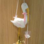 Cicogna nascita bimba