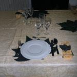 Particolare tavolo sala collezione autunno
