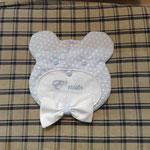 Fiocco nascita bimbo orsetto personalizzato