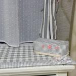 Particolare camera bimbi porta fazzoletti