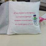 Cuscino libro personalizzato Margherita pag 5