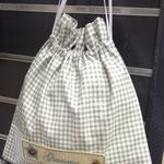 Porta biancheria bimbo con targhetta personalizzata