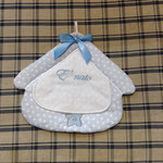 Fiocco nascita bimbo casetta personalizzato