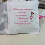 Cuscino libro personalizzato Margherita pag 4