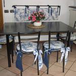 Cucina toile de jouy particolare sedie