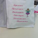 Cuscino libro personalizzato Margherita pag 2