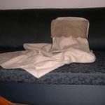 Particolare cuscino porta coperta collezione campagna
