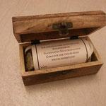 Gutscheinbox mit 3 verschiedenen Gewürzgläsern zusätzlich zu einem Event Gutschein zu erwerben!Kosten zuzüglich10 Euro