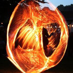 Dhyana Feuertanz Feuer Springseil