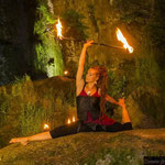 Dhyana Feuertanz Feuer Stab