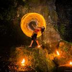 Dhyana Feuertanz Feuer Seile