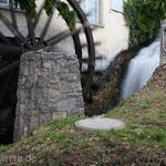 Wasserrad. - Schaffhausen, Rheinfall