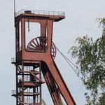 Blick auf den alten Förderturm