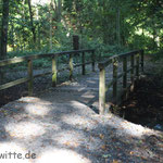 Lutterbrücke auf dem Weg von Quelle nach Isselhorst