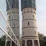 Das doppelte Türmchen. - Gütersloh, Wasserturm