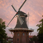 Windmühle. - Papenburg