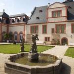 Der Schlossgarten. Wunderschön.